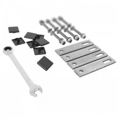 ZIPPER Compresseur air 50 litres avec accessoires ZI-COM50-2V510E