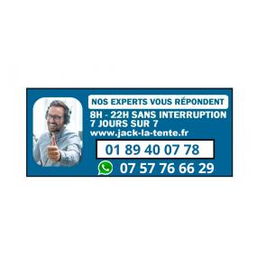 Télécommande radio 50m pour groupes électrogènes Kompak, Black+Decker et Hyundai branchement sur ATS